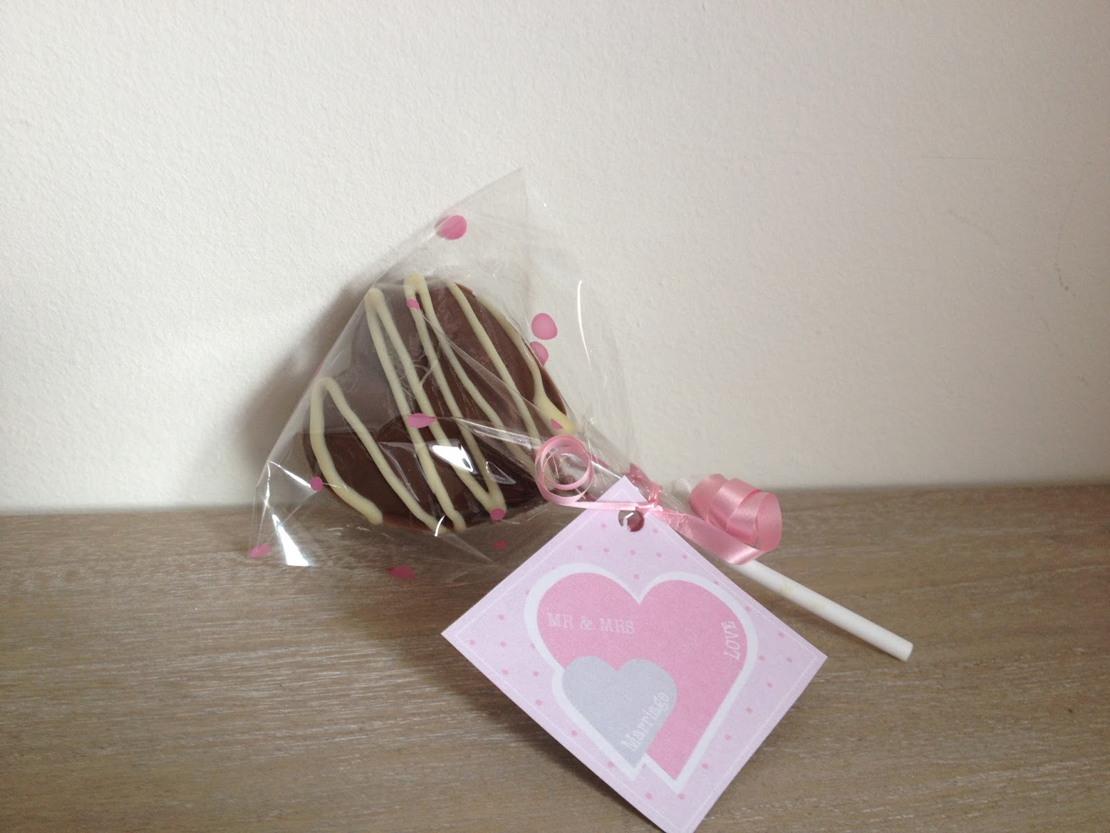 Chocolate Heart Favours Uk