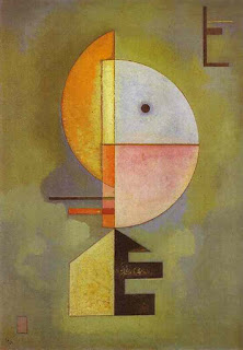 Upward 1929 - Wassily Kandinsky painting
