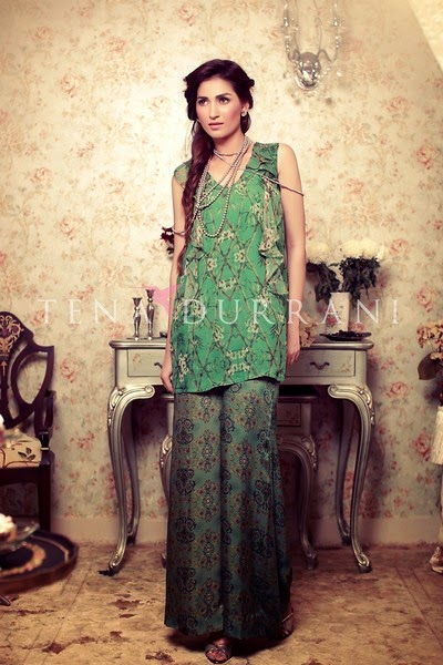 Tena Durrani Eid Collection 2014