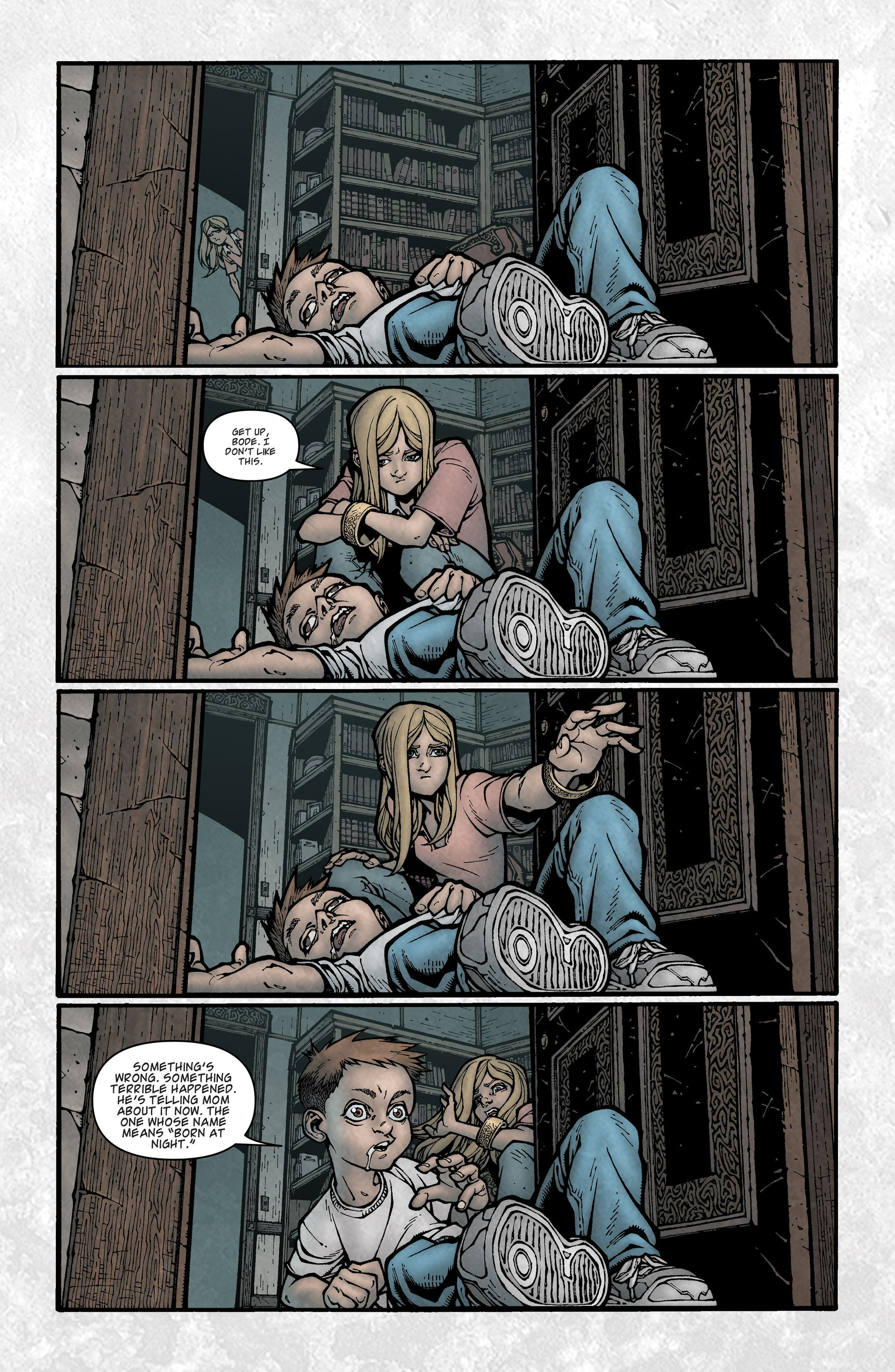 Locke & Key (2008) Issue #3 #3 - English 14