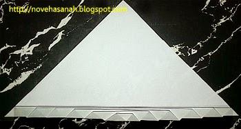 cara membuat angsa dari kertas bekas, sebuah kerajinan tangan untuk anak sd langkah 4