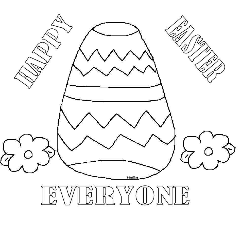 Marys Craft Nook Printables Easter Themed Coloring Sheets
