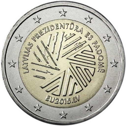 2 euro Latvia 2015