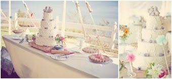 Beautiful and Breathtaking Cape Cod Wedding Inspiration of Carrie and Stasia using my Love birds!
