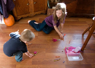 An open letter to homeschool mom with lots of littles {from a mom who's been there}