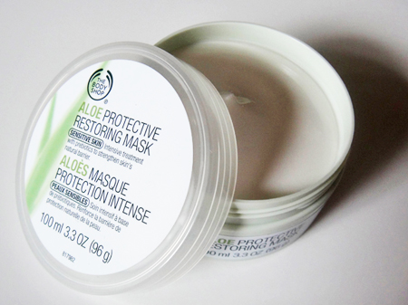 body shop face mask instructions