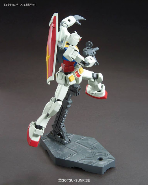 bandai model kit HGUC 1/144 RX-78-2 Gundam Revive Version