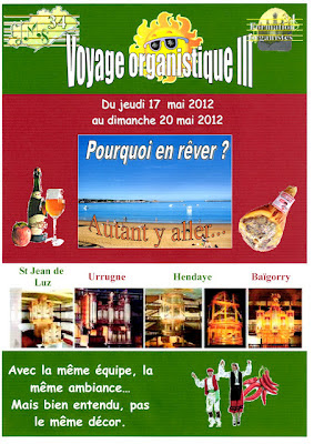 Voyage organistique au pays-basque