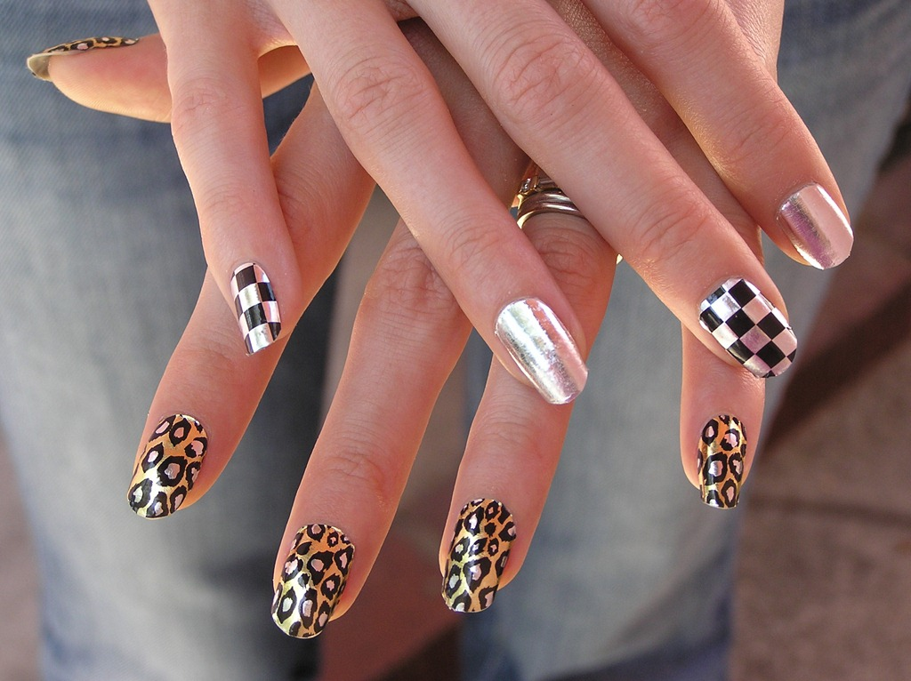 The Breathtaking Simple white cheetah nails Photograph