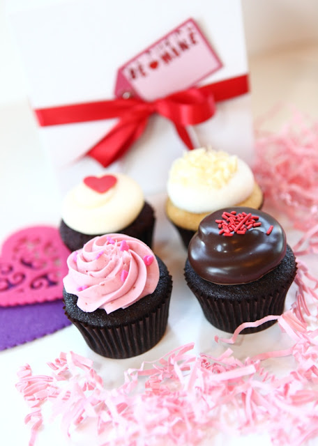 Minneapolis Valentine's Day Cupcake Gift Box