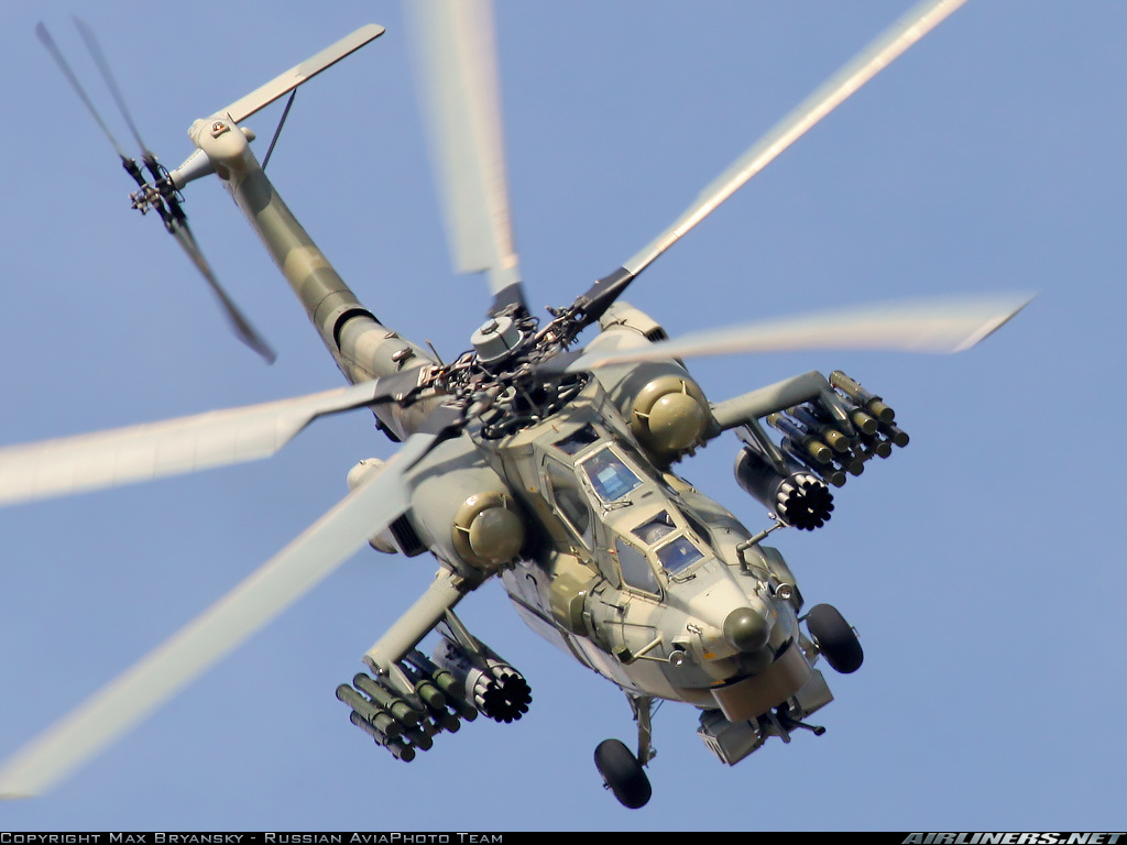 Mi 28 havoc russian attack helicopter
