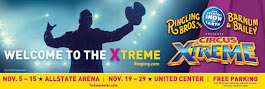 WIN 4 tickets to Ringling Bros Circus XTREME Opening Night at United Center 11/19