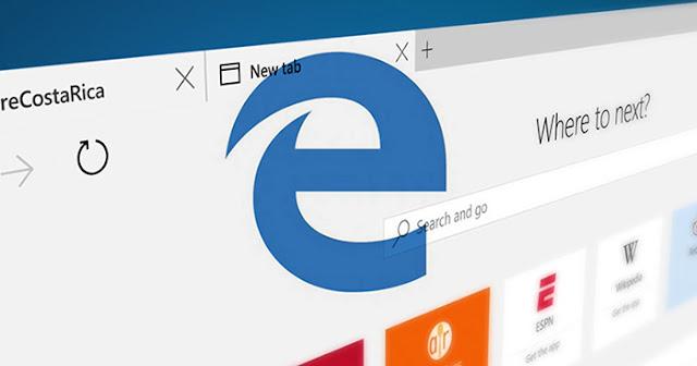 Microsoft Edge, Browser Terbaru Dari Microsoft