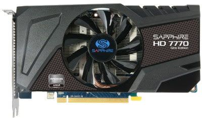 Sapphire AMD/ATI HD 7770 1 GB GDDR5 Graphics Card