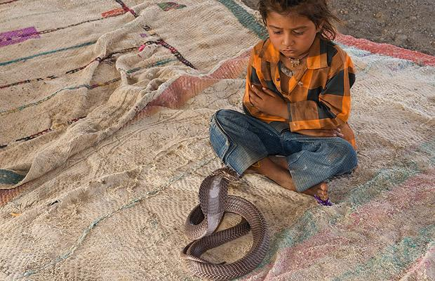 Snake Charmer Village in India 50