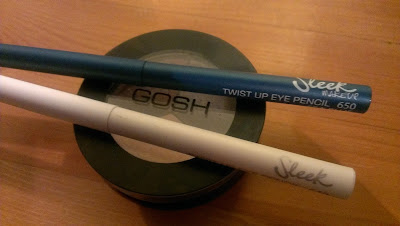 Superdrug bargains Sleek eyeliners and GOSH eyeshadow