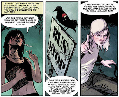 werewolf, dancy flammarion, supernatural, comic strip, sample