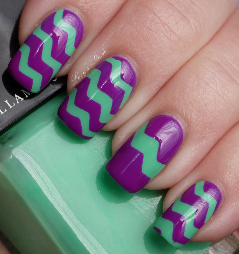 ZIG ZAG Nail Art manicure / make up tips - Juxtapost