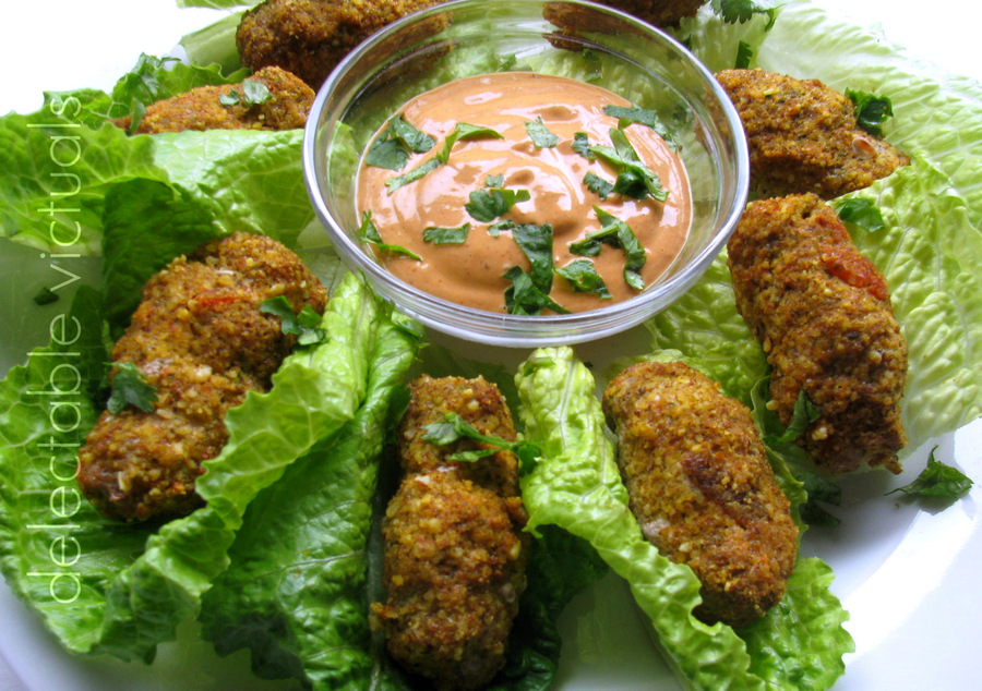 ground turkey croquettes