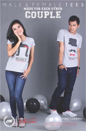 Kaos Couple Catenzo