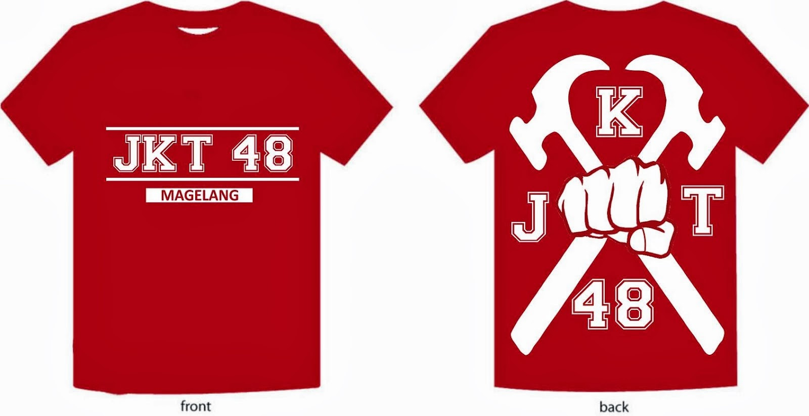 Desain t shirt jkt48 - Desain T Shirt Jkt48 22