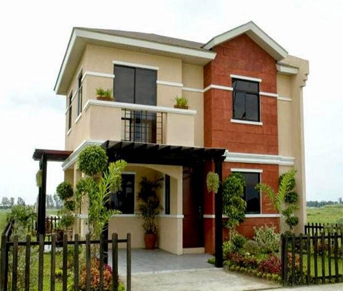 model rumah dua lantai terbaru
