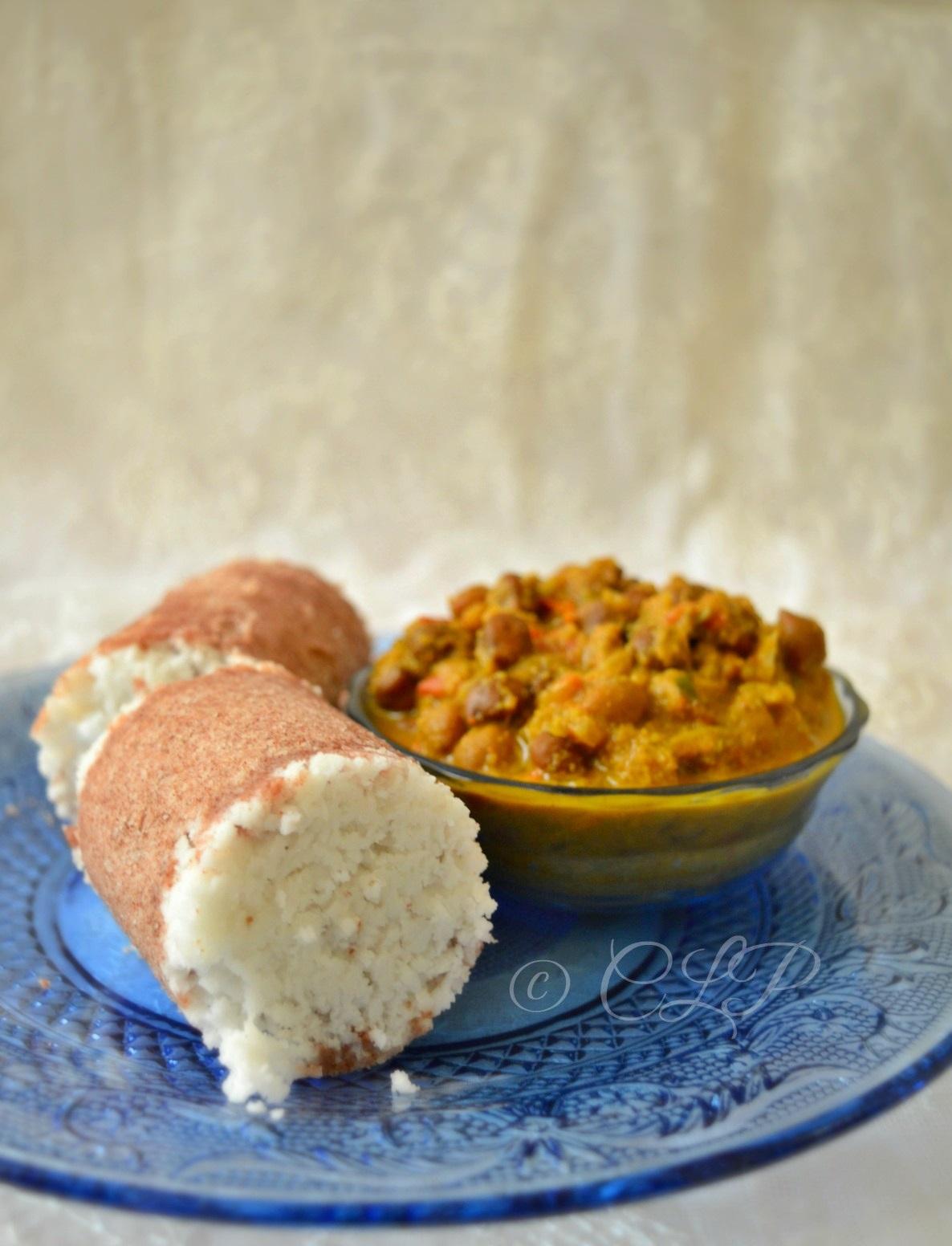 Fingermillet Puttu Recipe/ How to make Ragi puttu at home