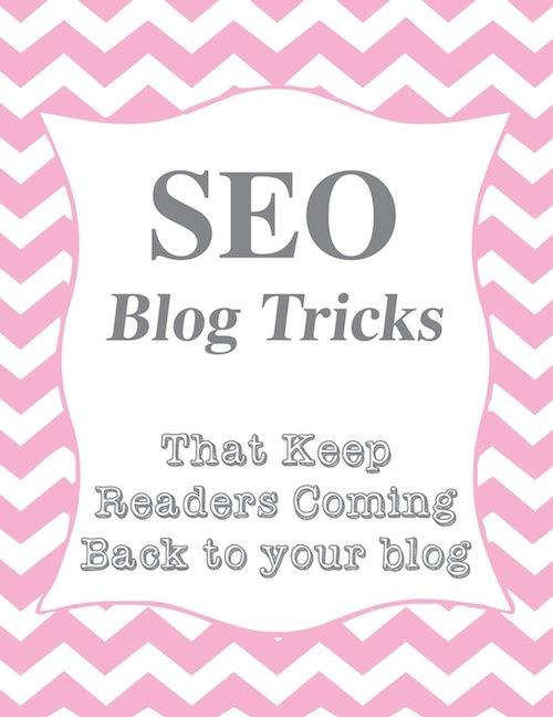 SEO Blog Tricks
