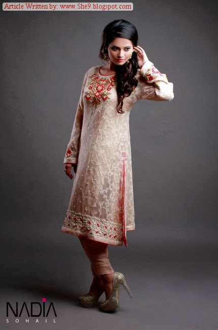 Nadia Sohail Formal Semi-Fancy Dress Collection 2015-2016