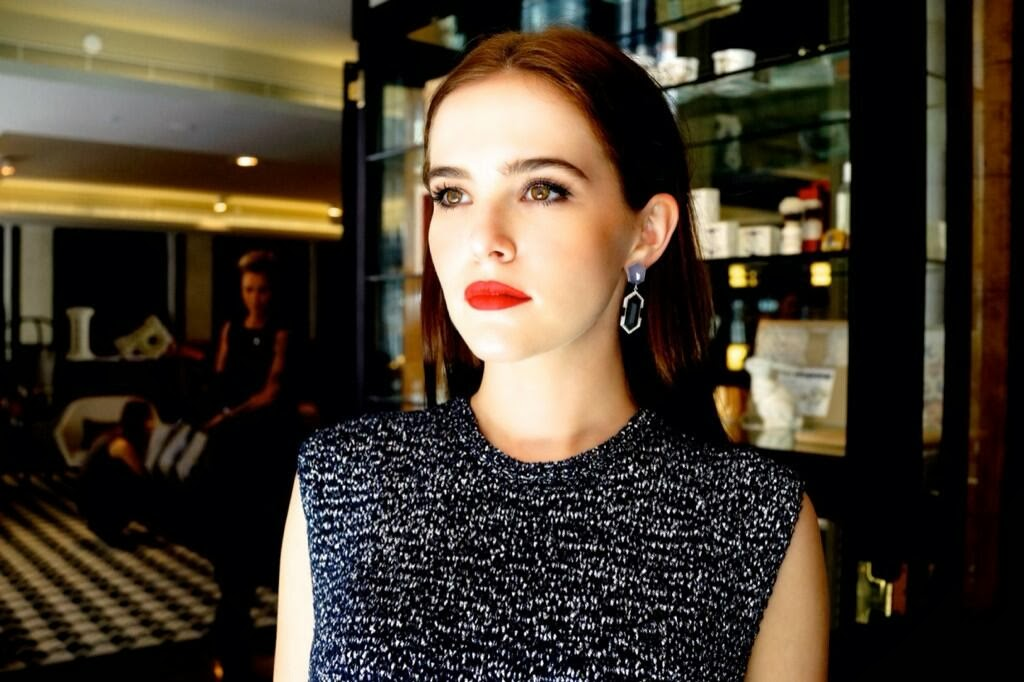 Zoey Deutch Underwear February 20 in Australia