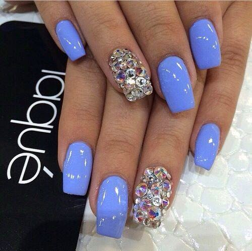 Ladies Nails Art...