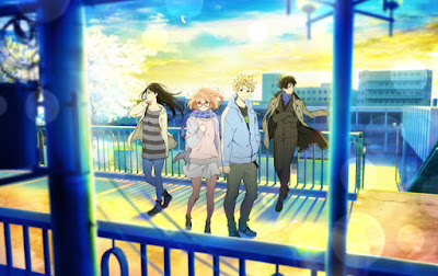 8. Beyond the Boundary: I'll Be Here: Future Arc (108 votes)