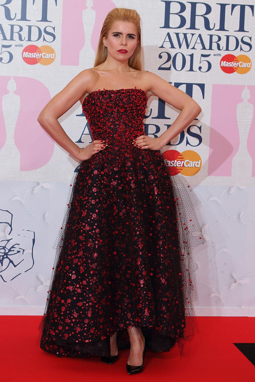 paloma faith brit awards 2015 red carpet