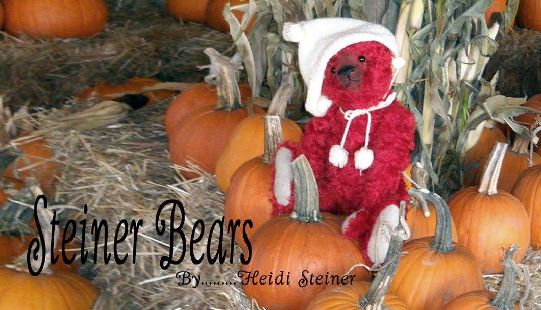 Steiner Bears ~  by Heidi Steiner