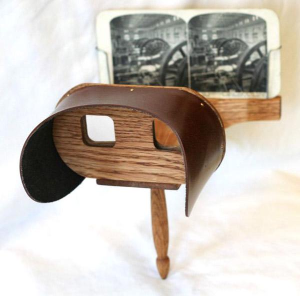 Stereoscope history