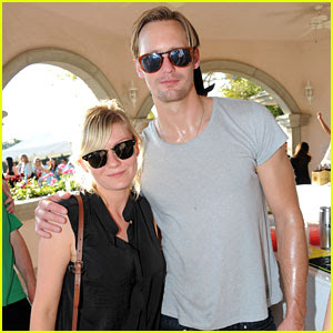 Alexander Skarsgard Enjoy Lacoste Live Party with Kirsten Dunst