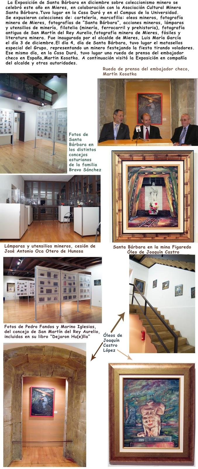 Exposición en Mieres, Grucomi, 2004
