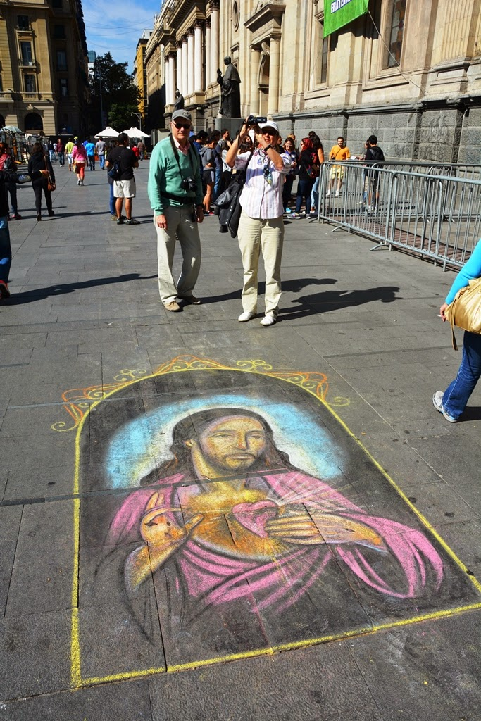 Santiago de Chile street art