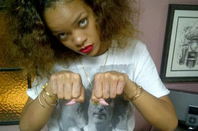 Rihanna's Controversial Tattoos