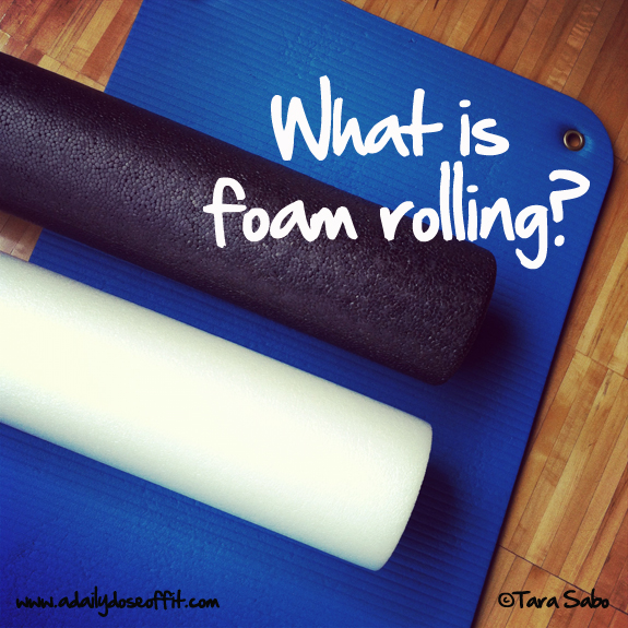 FOAM Rolling Workshop @ Studio FIT Launch