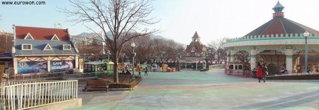 Parque de atracciones Woobang Land de Daegu en Corea