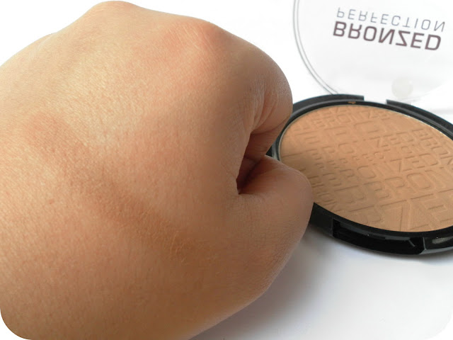 A picture of MUA Bronzed Perfection Swatched