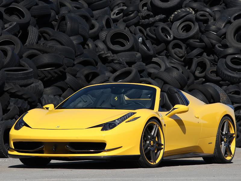 2012 Novitec Ferrari 458 Italia Spider
