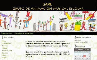 GRUPO DE ANIMACION MUSICAL ESCOLAR