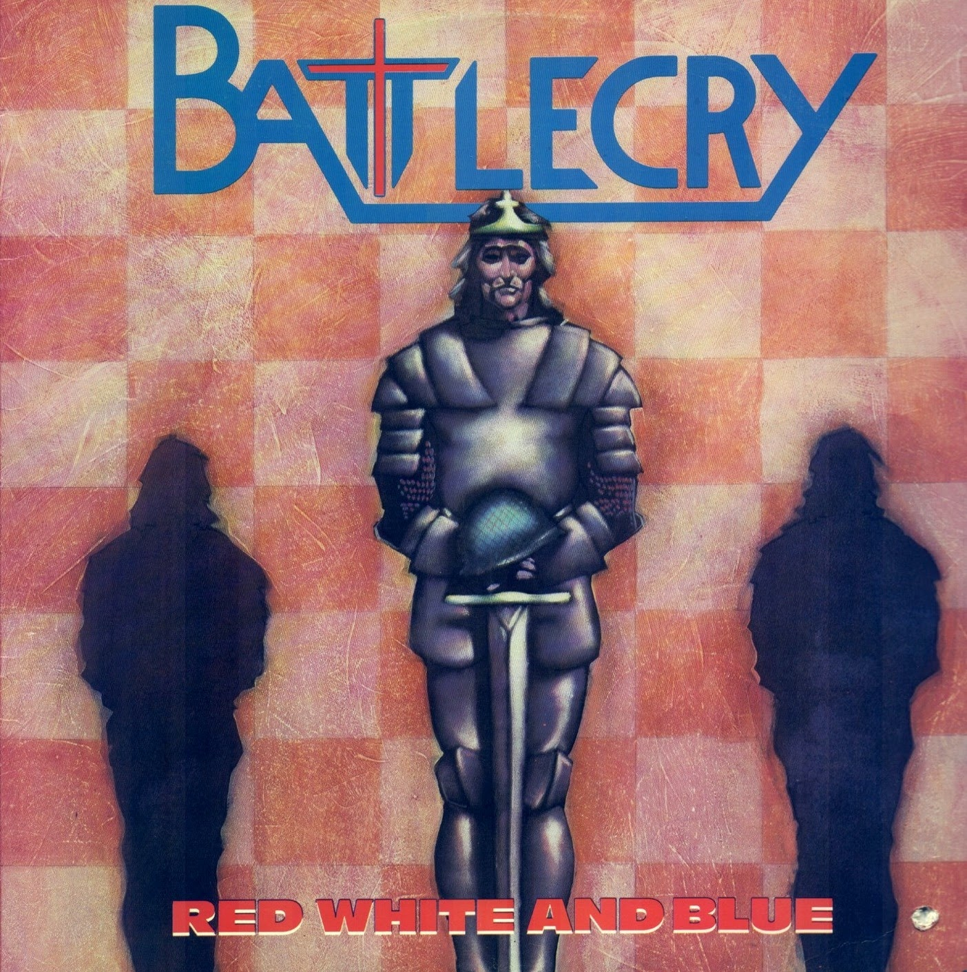Battlecry Red white and blue 1985