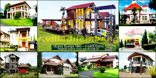 <b>Villa Istana Bunga 3 kamar</b>