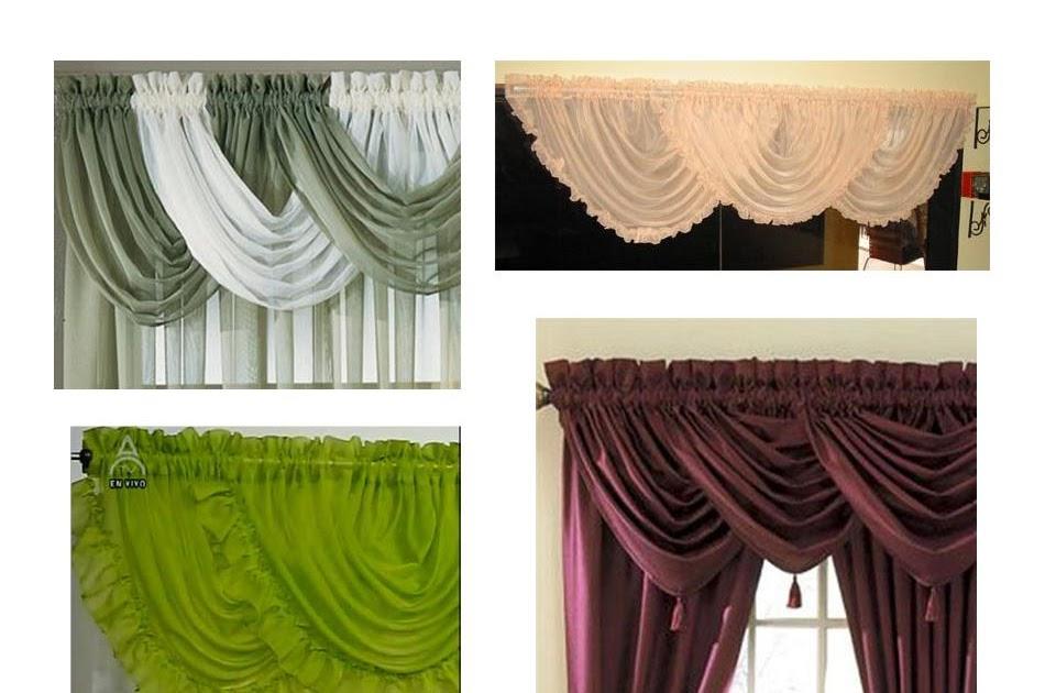 Novedades paola cortina cenefas entubada cruzada - Cenefas de cocina modernas ...