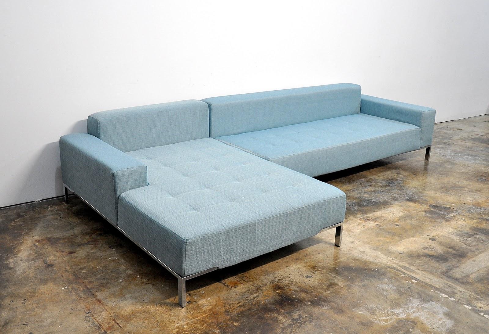 SELECT MODERN: Zanotta Alfa 10.5\' Sectional Sofa