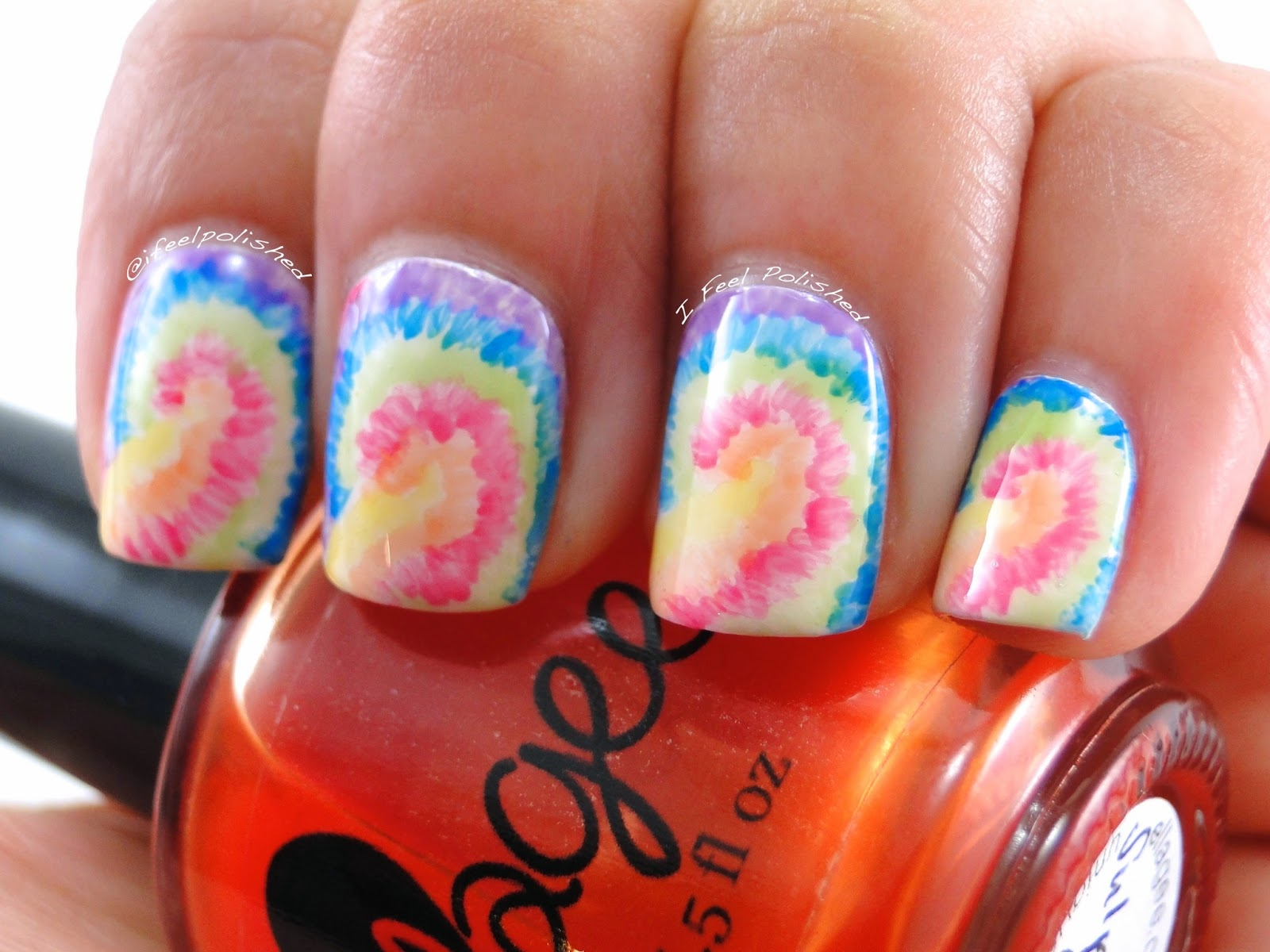 Jelly Polish Nail Art