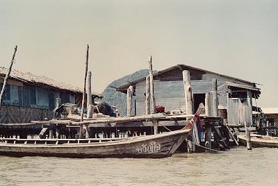 Koh Panyi and James Bond Island, Phuket, Thailand